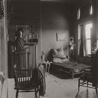 nancy bellamy's bedroom, n.y.c by diane arbus