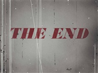 the end by ed ruscha