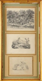 bord de lac (+ 2 others; 3 works) by hortense beauharnais
