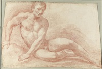a reclining nude by antonio cioci