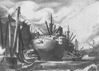 tramp steamer by charles wheeler locke