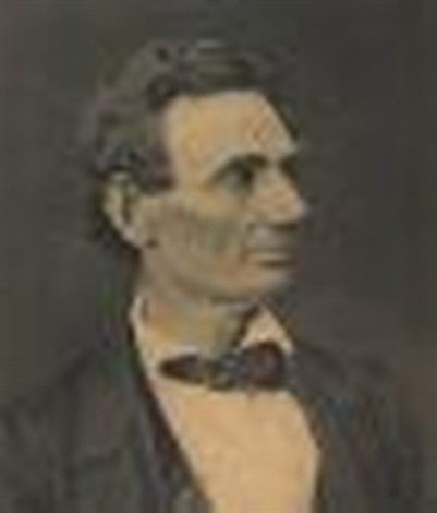 portrait of abraham lincoln by george b ayres