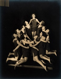 the russian pupils of isadora duncan by edward steichen