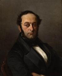 retrato de caballero by antonio cabral bejarano