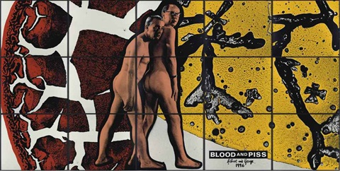 blood and piss in 15 parts by gilbert george