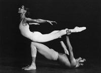 jorg donn et tania bari dans des ballets de maurice béjart (4 works) by robert kayaert