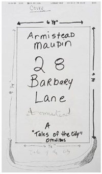 armistead maupin fax by david hockney
