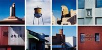 travel notes portfolio: eight plates (8 works) by robert cottingham
