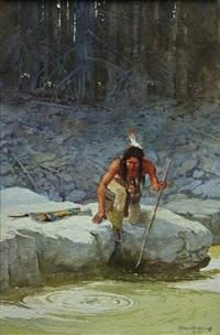 ojibwa by david allen halbach