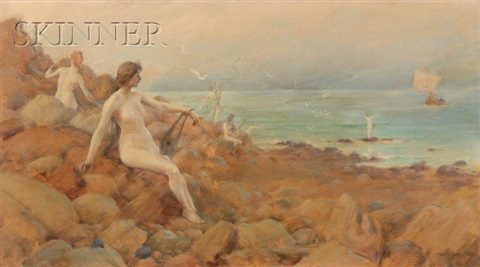 the sirens by charles courtney curran