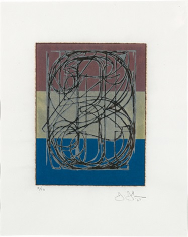 0 through 9 by jasper johns