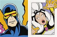 storm - cyclops (set of 2) by crash