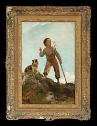 shepherd and his collie by james y. gant