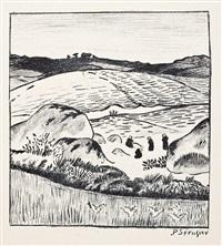 paysage, ou terre bretonne by paul sérusier