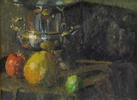 silver and fruit by c.w. mundy