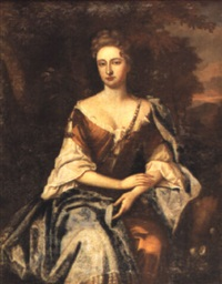 portrait of mary, mrs. anthony henley by jan van der vaardt