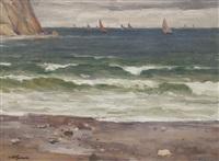 plachetnice na moři by t. frantisek simon