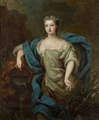 retrato de dama by pierre gobert