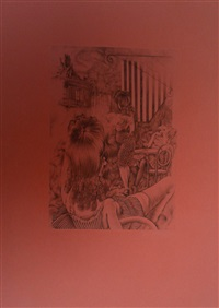 femmes au jardin by hans bellmer