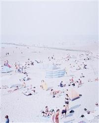 untitled (viareggio, beach scene) by massimo vitali