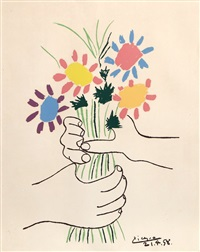 bouquet by pablo picasso