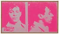 andy warhol, most wanted men no. 12, no. 11, no. 2 (pink) (3 works) by richard pettibone