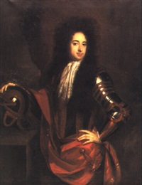 portrait of sir robert henley, 2nd bt, 1709 by jan van der vaardt
