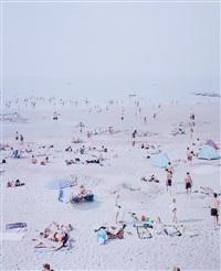 untitled (knokke beach) by massimo vitali