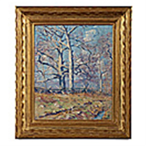 ancient trees, springtime by guy carleton wiggins