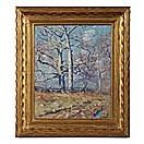 ancient trees springtime by guy carleton wiggins
