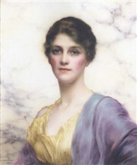 an emerald-eyed beauty by william clarke wontner