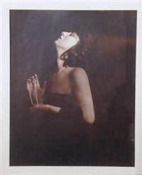 portrait of evelyn nesbit thaw by orval hilton