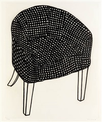 checked chair by humphrey ocean