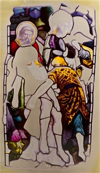 untitled (from stained glass series) by adam fuss