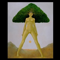 surrealist nude by georges braem