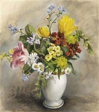 a flower still life by elise claudine arntzenius