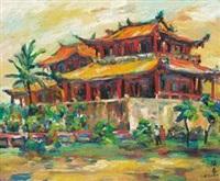 赤崁楼 by liao chi chun