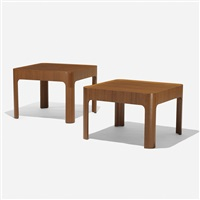 occasional tables (pair) by isamu kenmochi
