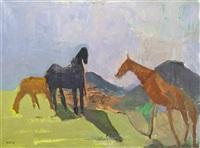 horses and eildons by earl george alexander eugene douglas haig