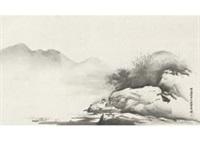 landscape by gaho hashimoto