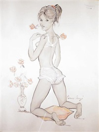 lucien, pourquoi faut des roses! by bernard charoy