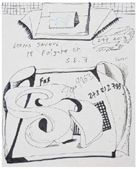 dennis severs fax by david hockney