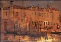 scène de canal by william brymner