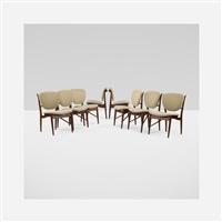 dining chairs (set of 8) by finn juhl