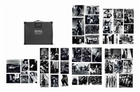 private property, suites i, ii and iii (set of 45) by helmut newton