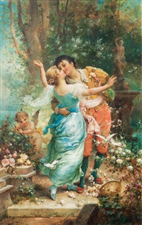 cupid's arrows by hans zatzka