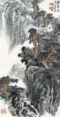 听泉图 (landscape) by zhao songtao