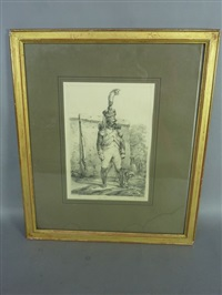 grenadier infanterie de ligne (+ 4 others; 5 works) by nicolas toussaint charlet