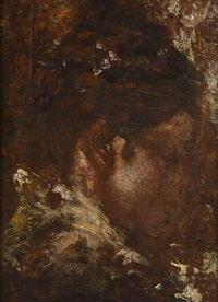 study of eleanora duse by antonio mancini