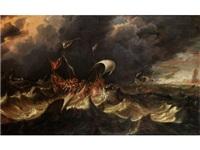 schiffe in seenot by jan peeters the elder
